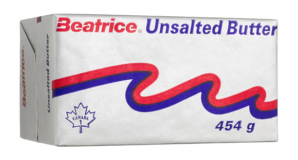 Beatrice Unsalted Butter 454g