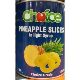 Choice Peach Halves In Light Syrup 2.84L
