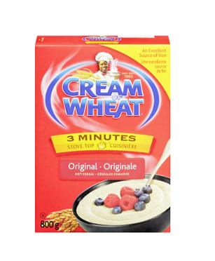Cream of wheat 3 minutes original - 800g