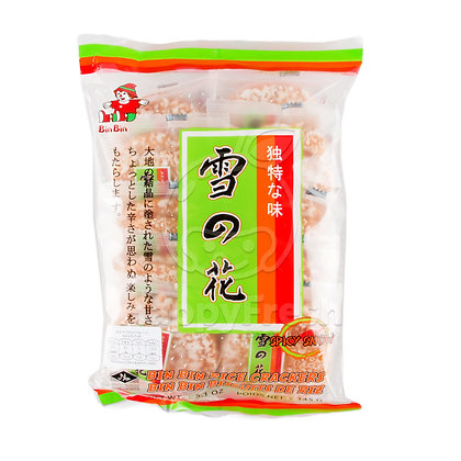 Bin Bin - Spicy Snow Rice Crackers 145g