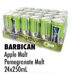 BARBICAN Apple Malt Pomegranate Malt 24x250ml
