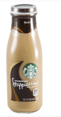 Starbucks Mocha Frappuccino Coffee Drink 405 ml