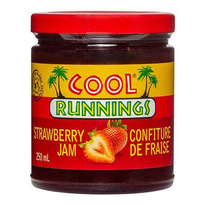 Cool Runnings - Strawberry Jam 250ml