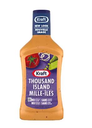 Kraft salad dressing( Thousand Island) - 475ml