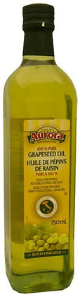 Aurora 100% Pure Grape Seed Oil 750ml