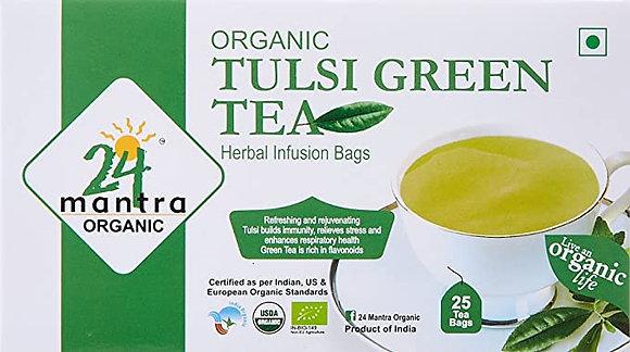 24 Mantra Organic Tulsi Green Tea (25 tea bags)
