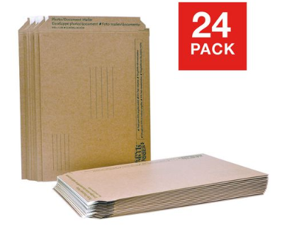 Earth Hugger 5.75 x 8.5 Inches Photo Mailer, 24 Pack