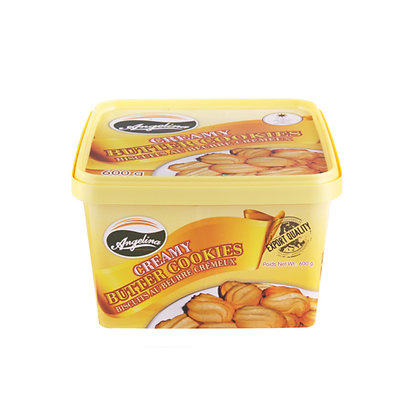 Angelina Creamy Butter Cookies 600g