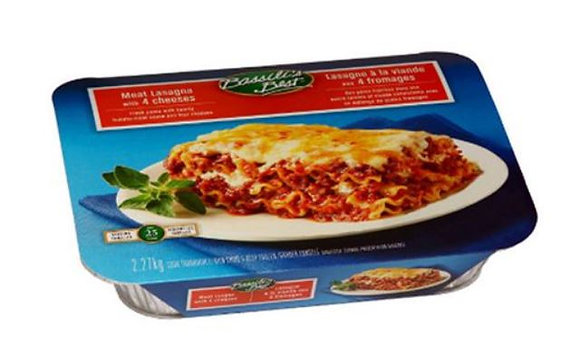 Bassili's Best Meat Lasagna with 4 Cheeses