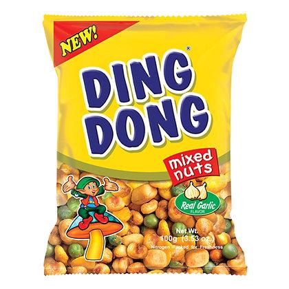 Ding Dong Real Garlic Mixed Nuts 100g