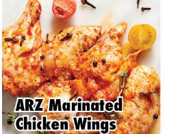 Halal Marinated Chicken Wings lb
