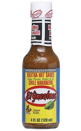 Elyucateco - Xxxtra Hot Sauce 120ml