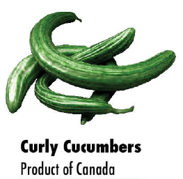 Curly Cucumber lb (Product of Canada)
