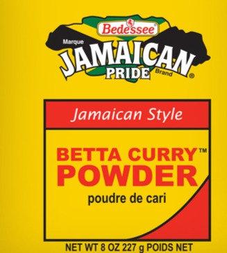 Bedessee Jamaican Betta Curry Powder 227g