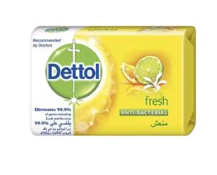 Dettol bar soap fresh - 104g