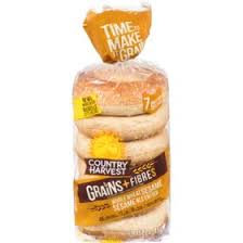 Country Harvest 14 Grains Bagels 450g