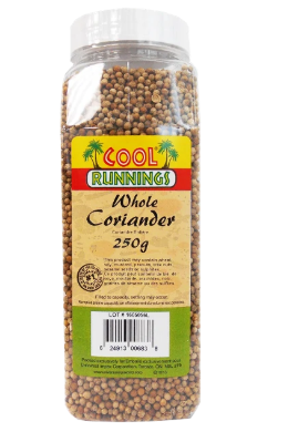 CoolRunnings whole coriander - 250g