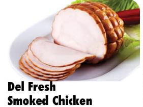 DEL Fresh Smoked Chicken 100g