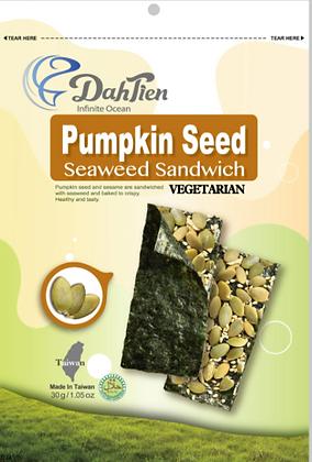 Dahlein Pumpkin Seed Seaweed Sandwich 30g