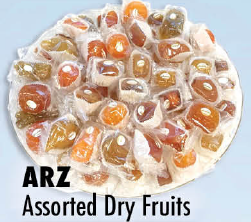 ARZ Assorted Dry Fruits lb