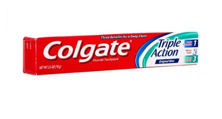 Colgate Triple Action Toothpaste - 70g