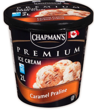 Chapman premium caramel praline