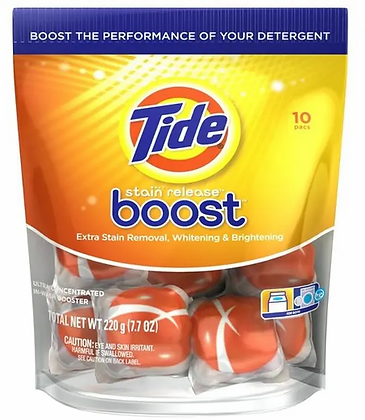 Tide stain release boost pods (10pcs) - 220g