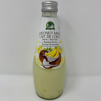 Evergreen Coconut Milk Banana Flavour 290ml