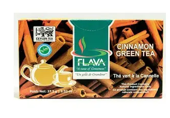 Flava cinnamon green tea - 25teabags