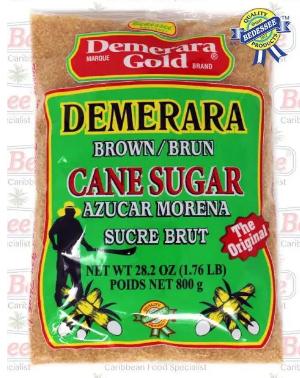 Demerara Gold Brown Cane Sugar 800G