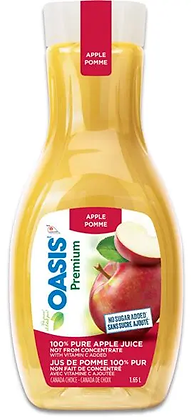 OASIS Premium - Apple Juice 1.65L
