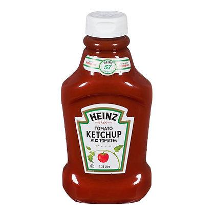 15min-Heinz tomato ketchup 1.25L
