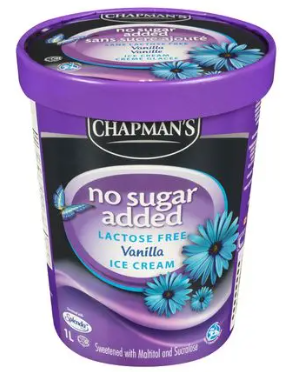 Chapman nosugar&lactose vanilla