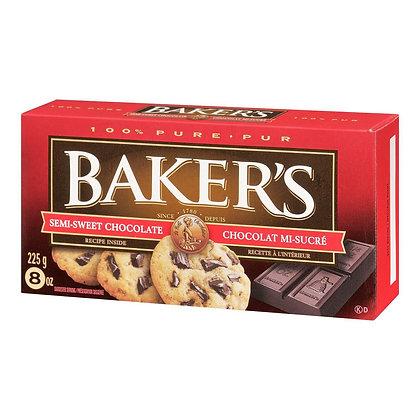 Baker's Semi Sweet Chocolate Cookies 225g