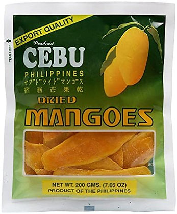 Cebu Philippines Dried Mangoes 200g