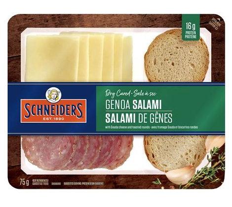 Dry Cured Genoa Salami Snack Kit