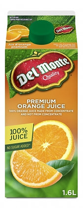 Delmonte Premium Orange Juice 1.6L