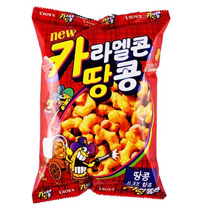 Crown - Caramel Peanuts 72g