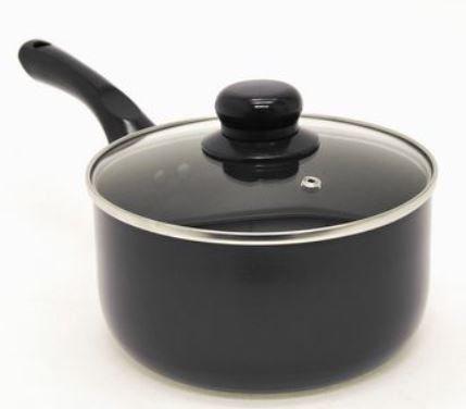 Starbasix 20 cm Pressed Aluminium Sauce Pan with Lid