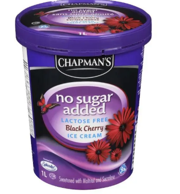 Chapman nosugar&lactose black cherry