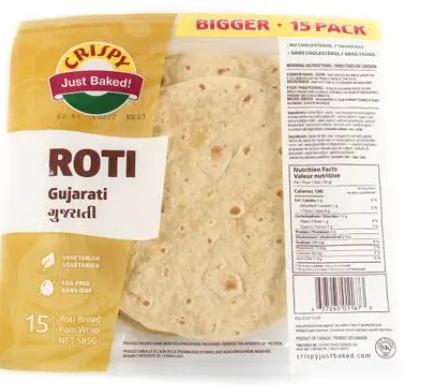 CRISPY ROTI - GUJARATI 585g_15-pk