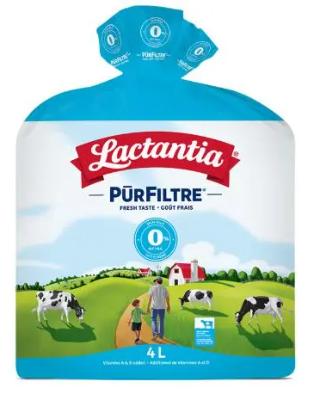 Lactantia® PūrFiltre Skim Milk 0% 4L