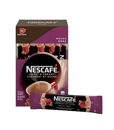 Nescafe sweet&creamy mocha - 18x19g