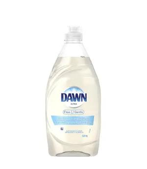 Dawn ultra dishwashing liquid free&gentle - 532ml