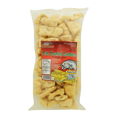 Aling  Fish Flavored Crackers 100g