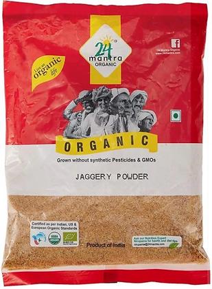 24 Mantra Organic Jaggery Gud Powder (500 gms)