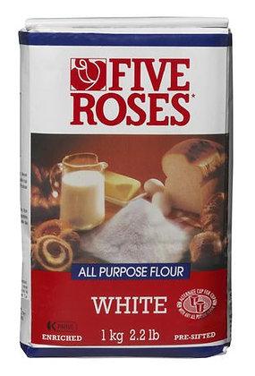 15min-Five Rose White Flour 2.2lb