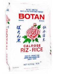 Botan - Calrose Riz Rice 40lbs
