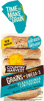 Country Harvest Grains Bagels 450g