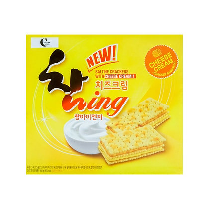 Crown Chaming Cheese Flavor Cracker 360g